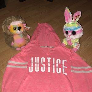 Girls Justice Hoodie